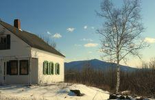 Free Blue Sky White Mountains Stock Photo - 30163110