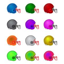 Free Football Helmets Stock Images - 30166494