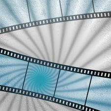 Free Vector: Movies Film Blue Light Background Royalty Free Stock Photography - 30166667