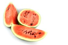 Free The Watermelon Which Are Three Sliced. Stock Photos - 30167213