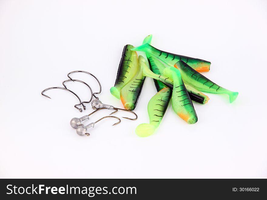 Green Fishing luer.