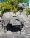 Free Stone Horse Statue. Royalty Free Stock Photography - 30177497