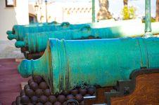 Old Fire Gun Stock Image