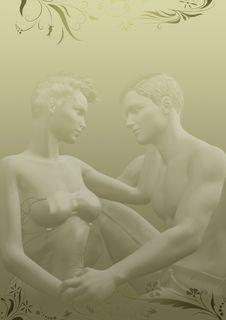 Free Romance Template Royalty Free Stock Photos - 30178288