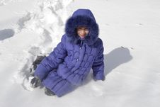 Free Children In Winter Royalty Free Stock Images - 30179919