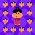 Free Twelve Kids Royalty Free Stock Images - 30187519
