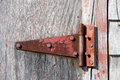 Free Rusty Red Hinge Stock Photos - 30187693