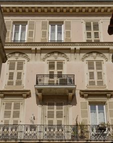 Free Building Facade In Nice France Stock Photography - 30181212