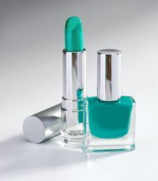 Free Nail Polish And Lipstick Stock Photos - 30183083