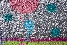 Free Graffiti Dots Royalty Free Stock Photos - 30184688