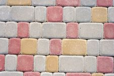 Free Colored Floor Bricks Royalty Free Stock Images - 30184969