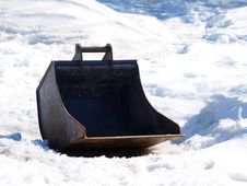 Free Shovel Of A Digging Machine Royalty Free Stock Photos - 30185258