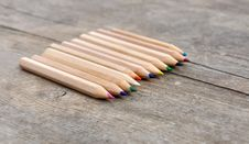 Free Colored Pencils Stock Image - 30190301