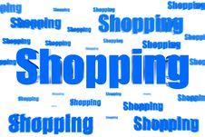 Free Spread Shopping Royalty Free Stock Photos - 30194968