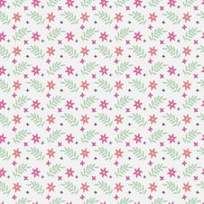 Free Seamless Floral Pattern Stock Photo - 30197380