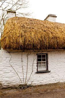 Free Old Irish Cottage Royalty Free Stock Image - 30197436