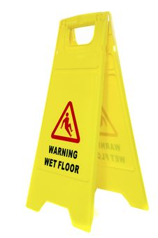 Free Wet Floor Sign Royalty Free Stock Images - 30198399