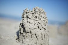 Free Sand Castle Royalty Free Stock Image - 30198546