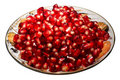 Free Pomegranate Grains On A Plate. Royalty Free Stock Images - 3024829