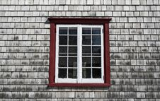 Window Of An Old Country House Royalty Free Stock Photo