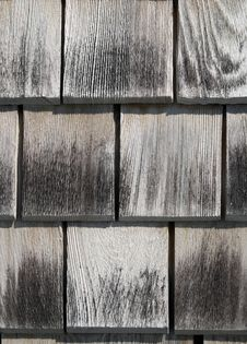 Texture Of Wooden Tiles Royalty Free Stock Photography