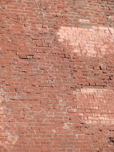 Free Red Brick Wall Royalty Free Stock Images - 3021959
