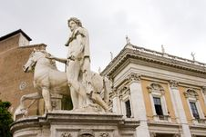 Free Castor (Kastor) Statue Royalty Free Stock Photo - 3022085