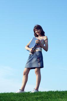 Free Teen Girl In Outdoor Stock Photo - 3022800