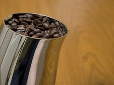 Free Coffee Grinder With Beans Stock Photography - 3024092