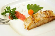 Free Grilled Salmon Stock Photos - 3024383