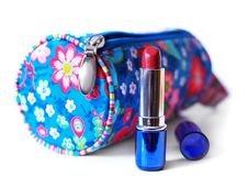 Free Beautician And Lipstick Royalty Free Stock Photos - 3024848