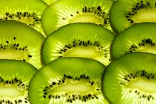 Free Sliced Kiwi Stock Photography - 3024992