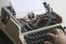 Free Typewriter Stock Image - 3025451