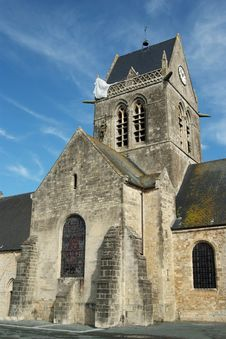 Free Sainte Mere Eglise Church Stock Photos - 3026193