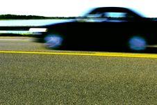 Free Moving Car Royalty Free Stock Image - 3026736