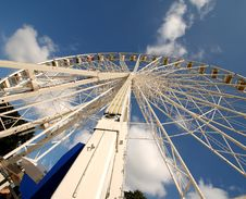 Wheel In The Sky Stock Image