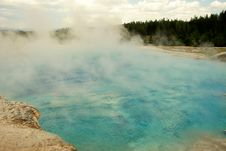 Free Geyser Pool Stock Image - 3027881