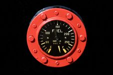 Free Industrial Fuel Gauge Stock Photography - 3028422