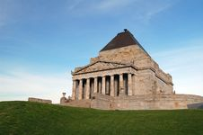 Free The Shrine Of Remembrance Royalty Free Stock Photo - 3029125