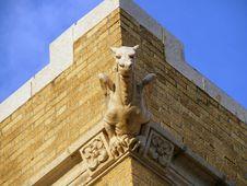 Free Gargoyle Warding Away Evil Stock Image - 3029271