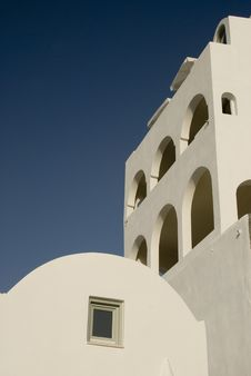 Free Greek Island Architecture Royalty Free Stock Images - 3029329