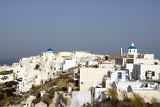 Free Scene Town Of Oia Santorini Royalty Free Stock Images - 3029339