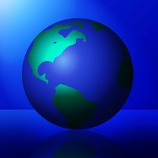 Free Shiny Planet In The Spotlight Stock Image - 3029811