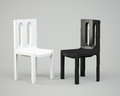 Free White And Black Chair Royalty Free Stock Images - 30209279