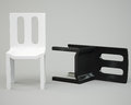 Free White And Black Chair Stock Photography - 30209292