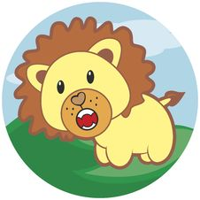 Free Small Roaring Lion With A Mane Stock Photo - 30204630