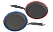 Free Two Frying Pans Royalty Free Stock Photography - 30205147