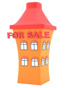 Free House For Sale Royalty Free Stock Image - 30205166