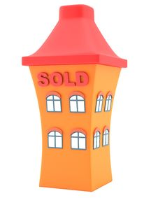 Free House Sold Stock Photo - 30205170