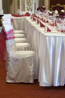 Free Wedding Table Stock Photography - 30206802